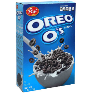 Oreo O's Cereal 311g, Choc-Cookie Rings