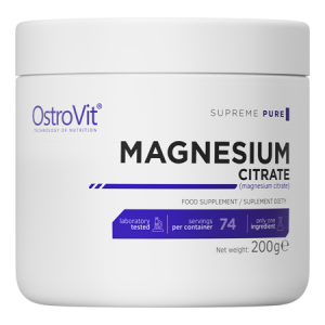 OstroVit 100% reines Magnesium Citrate 200g, supreme pure