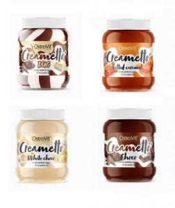 OstroVit Creametto 350g, low Sugar Aufstrich ohne Palmöl