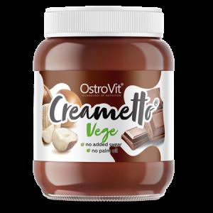 OstroVit Creametto vege 350g, veganer zero Sugar Aufstrich ohne Palmöl