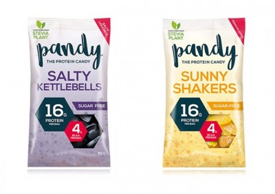 Pandy Shakers/Kettlebells 70g, Zuckerfreie Gummidrops