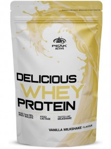 Peak Delicious Muscle Whey Protein 1000g Beutel, New Version 2019