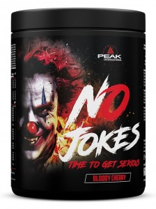 Peak No Jokes 600g Pulver, Pre-workout Pump & Fokus!