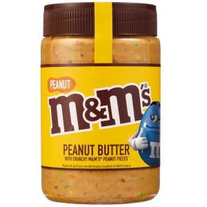 Peanut M&M's Peanut Butter 320g, mit crunchy M&M's & Erdnuss Stückchen