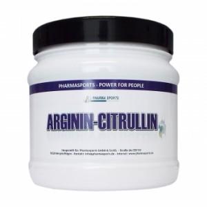 Pharmasports Arginin-Citrullin Kapseln 240 Stück! 1,1g pro Kapsel!