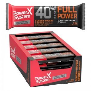 Power System 40% Protein Full Power Bar, 70g Riegel
