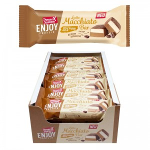Power System Latte Macchiato Bar 45g Riegel, 35% Protein