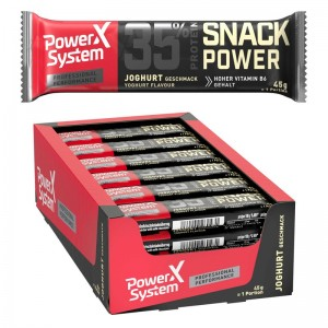 Power System Snack Power 45g Riegel, 35% Protein