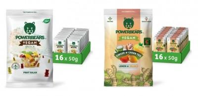Powerbears Vegan Snack Gummidrops 50g