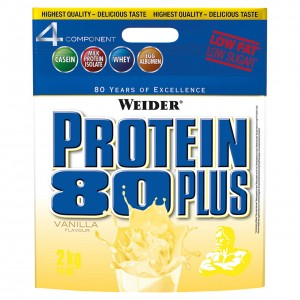 Sonderposten! Weider Protein 80 PLUS Beutel 2000g Pulver 2 Sorten