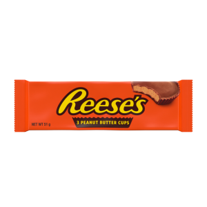 Reese's Milk Chocolate Peanut Butter Cups 3x 17g(51g), 3 Cups