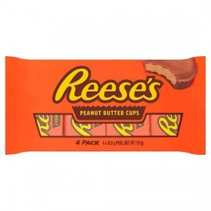 Reese's Milk Chocolate Peanut Butter Cups 4x 42,5g(170g), Big Pack
