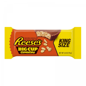 Reese's Milk Chocolate Reese's Big Cup Crunchy 79g, 2 Stück! King Size