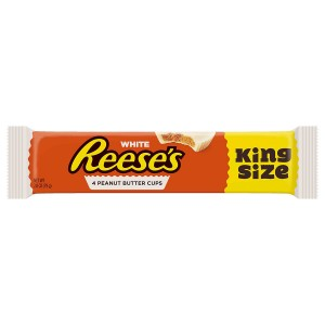 Reese's White Reese's Peanut Butter Cups 79g, 4 Stück! King Size
