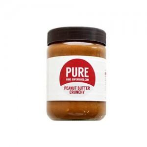 Sonderposten! Pure Superfoods Peanut Buter Crunchy 500g, MHD 03/22!