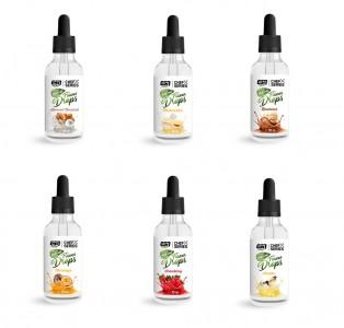 ESN Natural Flavor Drops Glasflasche 50ml, nur natürliche Aromen