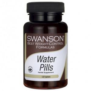 Swanson Diet Water Pills 120 Tabletten, natürliche Entwässerung
