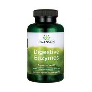 Swanson Digestive Enzymes 180 Tabletten! höchstdosiert! vegan!
