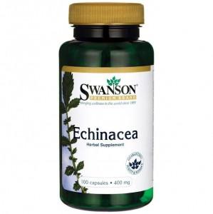 Swanson Echinacea 400mg, 100 Kapseln, Heilpflanzenextrakt