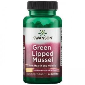 Swanson Grüner Lippmuschel Extrakt 500mg 60 Kapseln