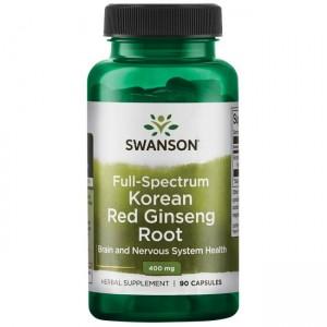 Swanson Koreanischer roter Ginseng 400mg, 90 Kapseln