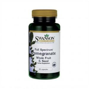 Swanson Pomegranate 60 Caps, Granatapfel-Frucht & Samenextrakt