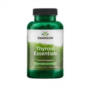 Swanson Thyroid Essentials 90 Caps, Stoffwechseloptimierung