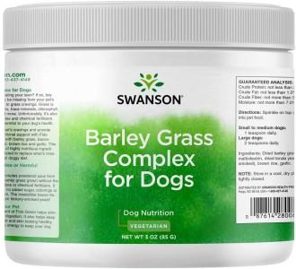 Swanson für Hunde Barley Grass Complex for Dogs 85g, Gerstengras-Komplex