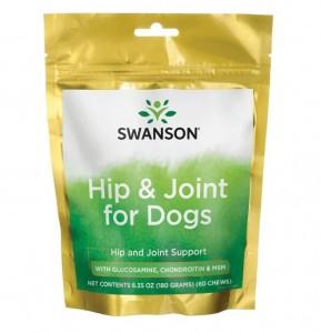 Swanson für Hunde Hip & Joint for Dogs 60 Drops zum Kauen, für Hüfte & Gelenke