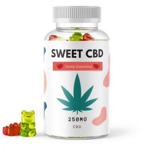Sweet CBD Hemp Gummies 125g CBD Gummi-Drops