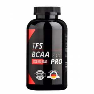 TFS BCAA 2:1:1 PRO 300 Kapseln, 1200 mg BCAA's, Made in Germany