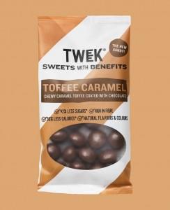 Tweek Toffee Caramel 65g, zuckerarme Toffeebällchen