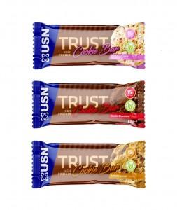 USN Trust High Protein Cookie Bar 60g, Soft-Cookie