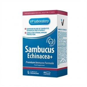VPLabs Sambucus Echinacea 60 Kapseln, Heilpflanzenextrakt