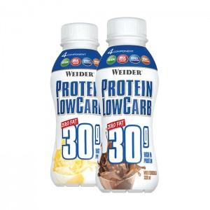 WEIDER Protein Low Carb Drink 330ml, 30g Protein! MHD 04.12.2020!