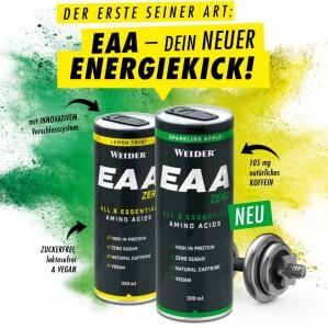 Weider EAA Zero 330ml RTD, 6g EAA! wiederverschließbar!