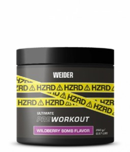 Weider HZRD ultimate Pre Workout 260g, 20 Portionen