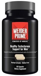 Weider Prime Sonderposten Testosterone Support für Männer 60 Caps  MHD: 01/21!