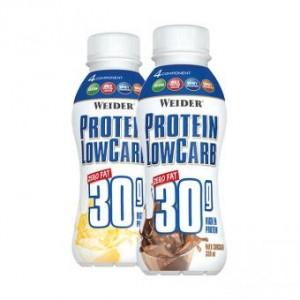Weider Protein LowCarb 30g Shake 330ml, zero fat!