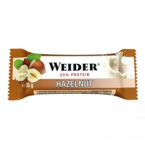 Weider Sonderposten Fitness Bar 24x35g Riegel Kiste Haselnuss MHD: 30.11.!