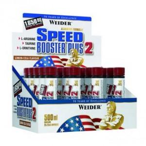 Weider Speed Booster Plus 2 20x 25ml Ampullen, Sonderposten! Lemon-Cola MHD: 30.03.2020!