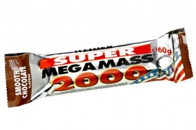 Weider Super Mega Mass 2000 60g Riegel MHD 06/2019