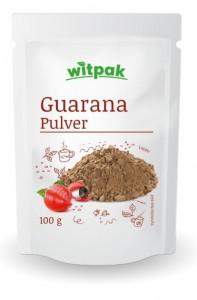 Witpak Guarana Pulver 100g, 100% gemahlene Samen
