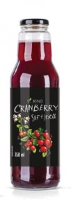 Witpak Sorino Cranberrysaft 100% 750ml