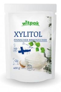 Witpak Xylitol 400g, Xylit finnischer Birkenzucker
