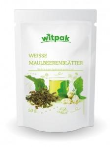 Witpak weiße Maulbeerenblätter 50g, Kräutertee