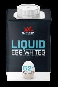 XXL Nutrition 100% liquid Egg Whites 500g, flüssiges Eiklar pasteurisiert, Tetrapack