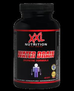 XXL Nutrition Water Drain 60 Kapseln, natürliche Entwässerung