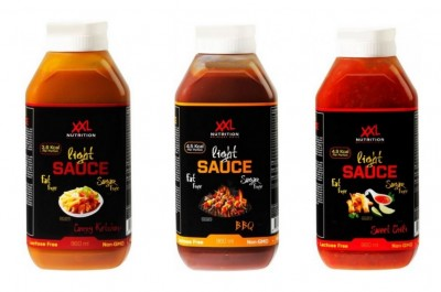 XXL Nutrition light Sauce 960ml Flasche, fettfreie & zuckerfreie Soße