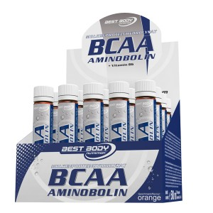 Best Body BCAA Aminobolin + Vitamin B6 20 Ampullen a 25ml
